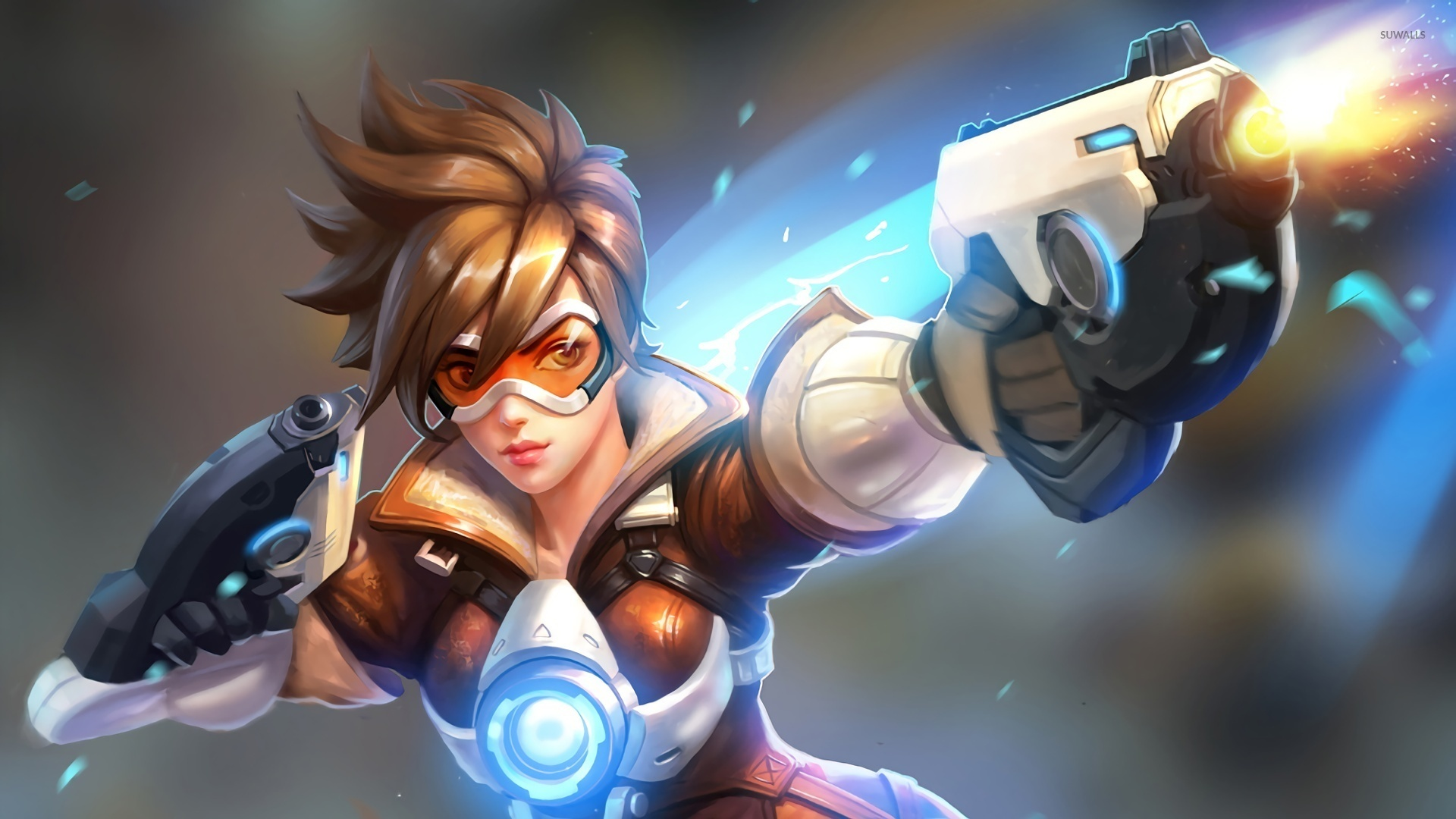 overwatch agent tracer wallpapers - photo #2