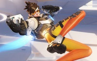 Tracer from Overwatch wallpaper 3840x2160 jpg