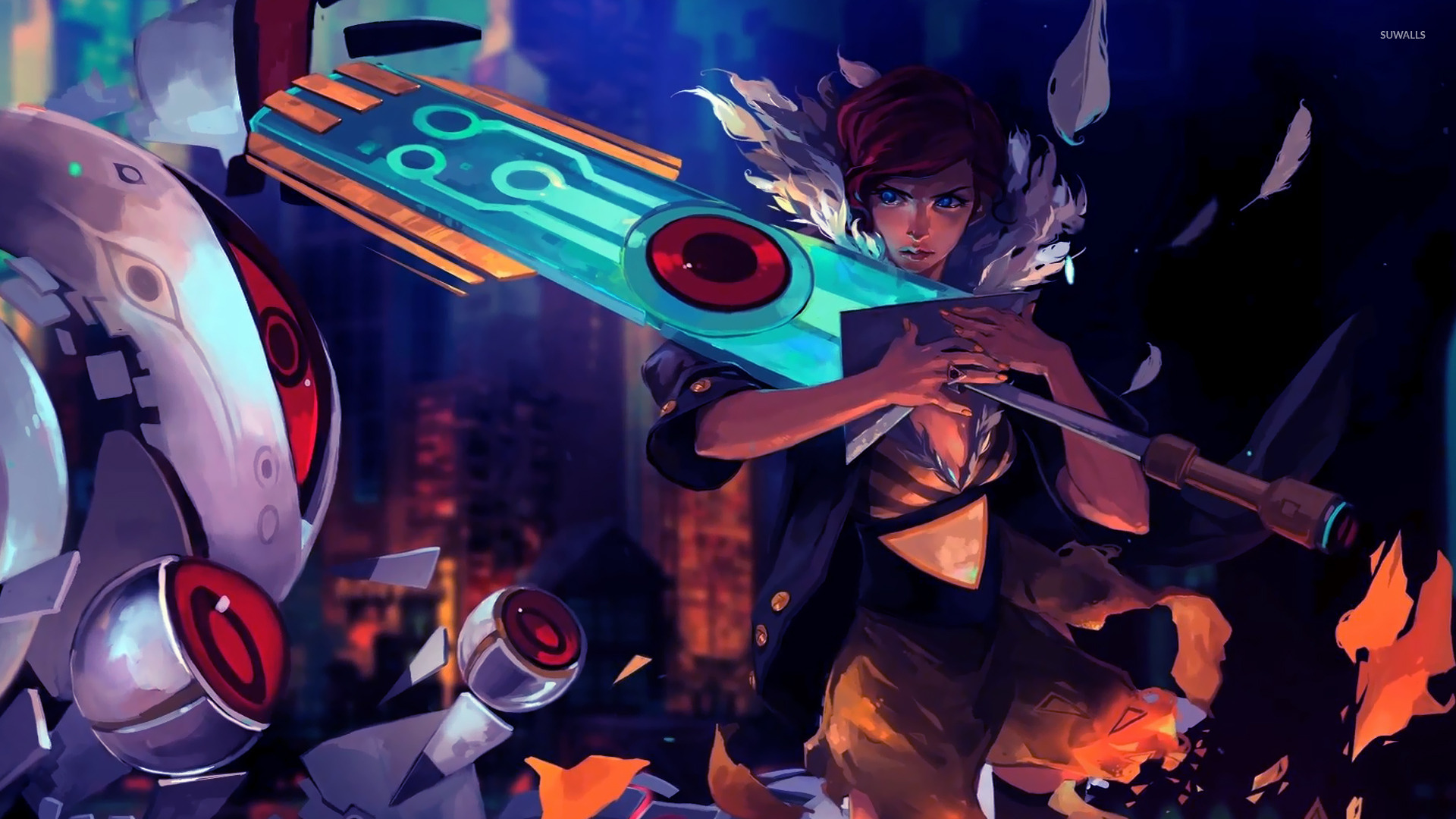 transistor 2 wallpaper game wallpapers 21714