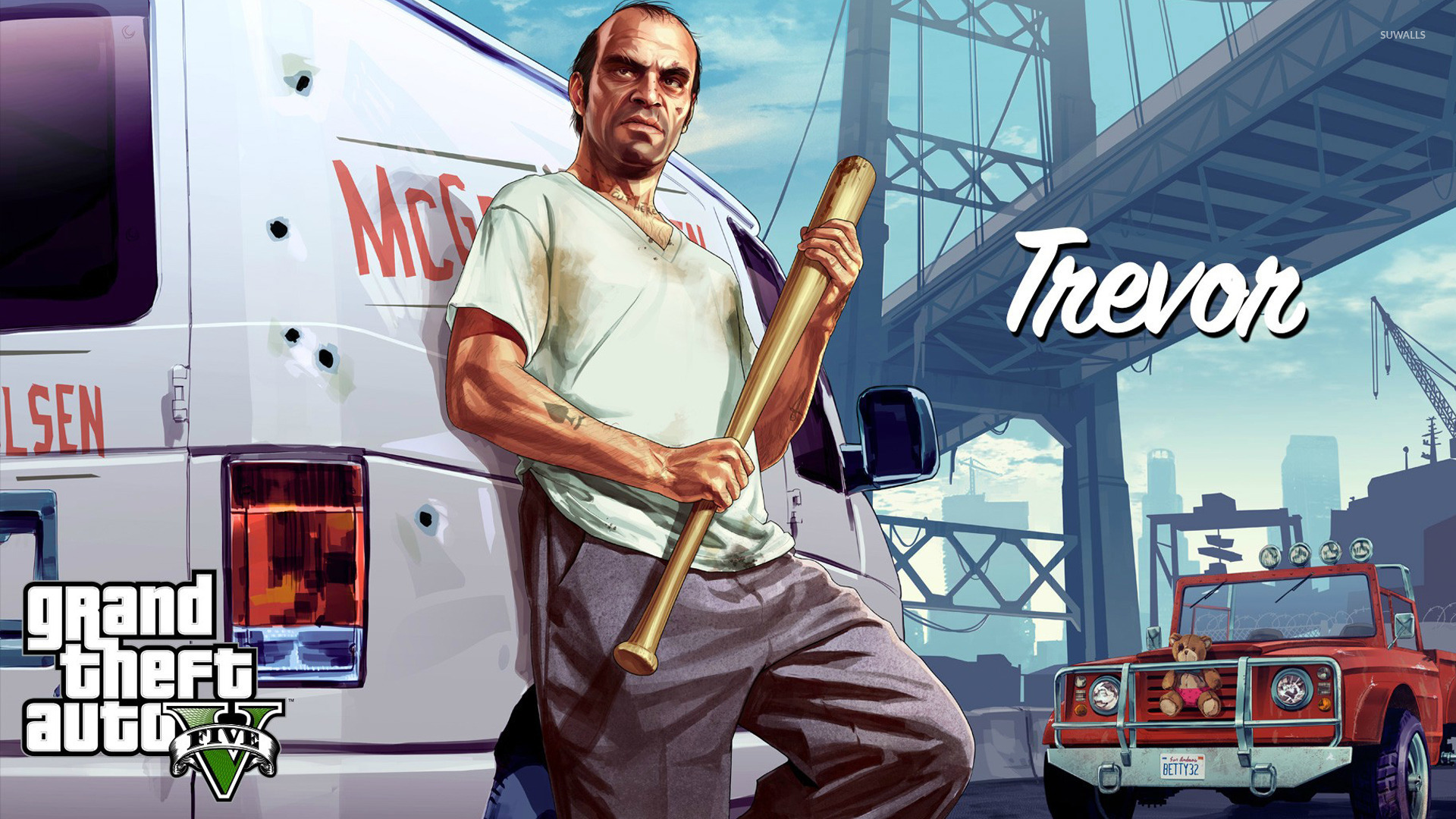 Trevor - Grand Theft Auto V wallpaper