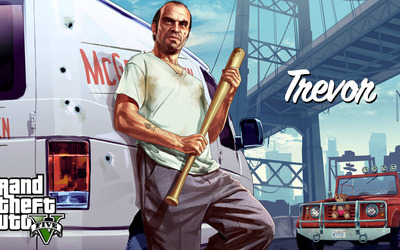 Trevor - Grand Theft Auto V wallpaper