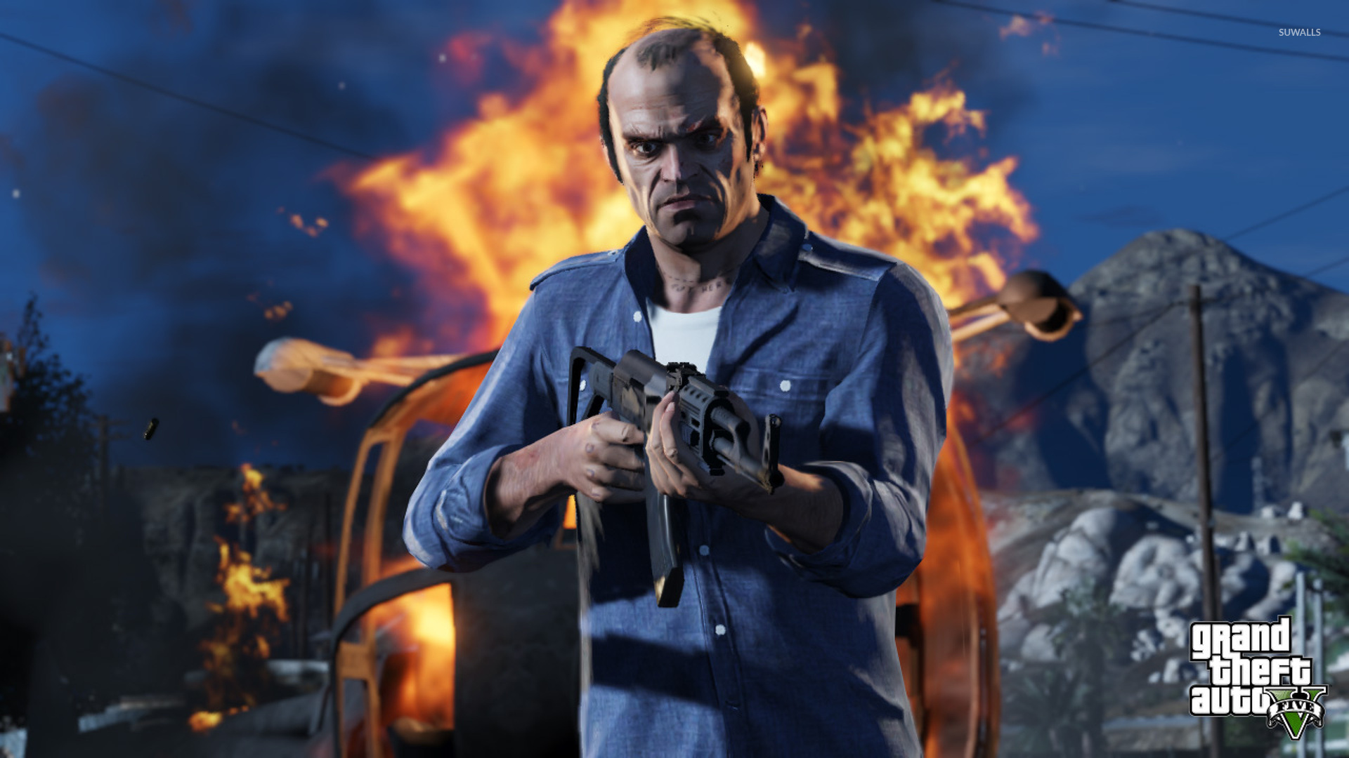 Trevor Grand Theft Auto V 2 Wallpaper Game Wallpapers
