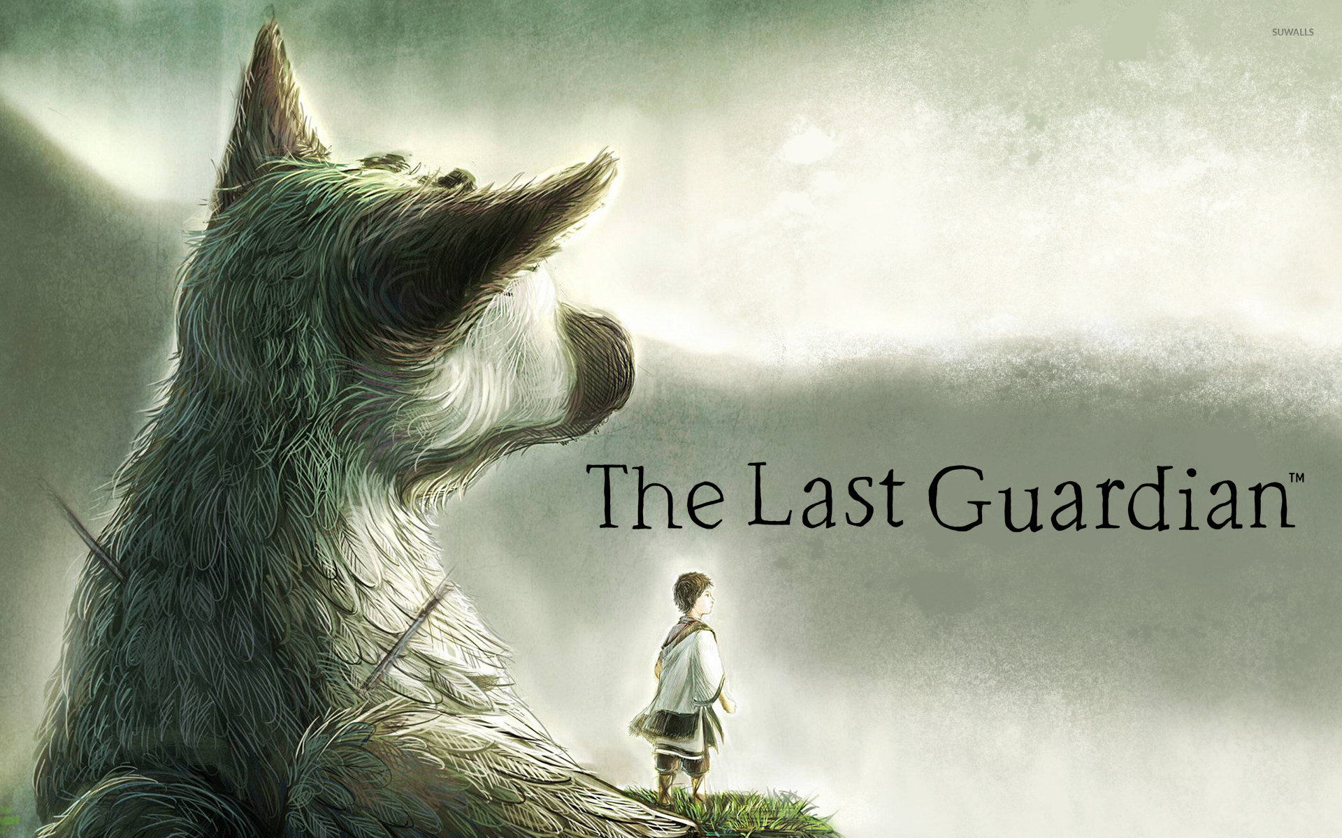 Trico And The Boy In The Last Guardian Wallpaper Game Wallpapers