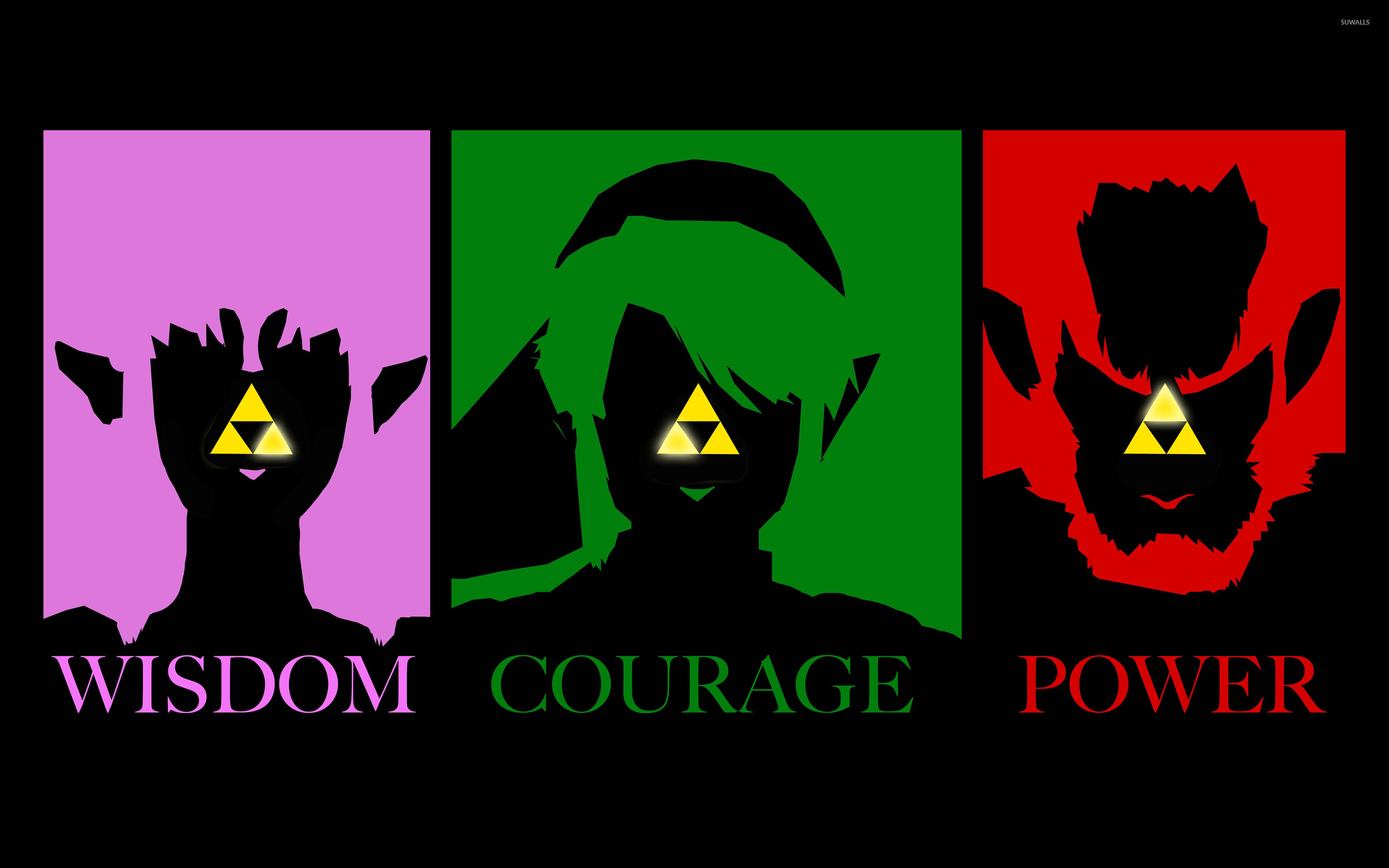 triforce - the legend of zelda wallpaper - game wallpapers - #23489