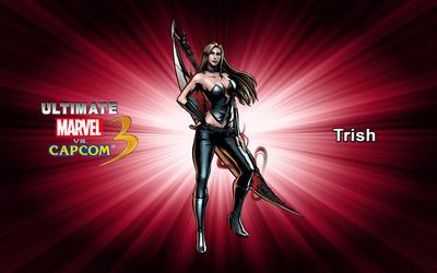 Trish - Ultimate Marvel vs. Capcom 3 wallpaper
