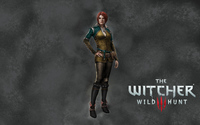 Triss Merigold in The Witcher 3: Wild Hunt wallpaper 3840x2160 jpg