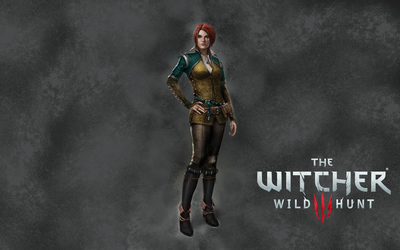 Triss Merigold in The Witcher 3: Wild Hunt wallpaper