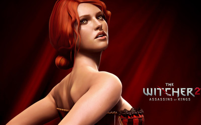 Triss Merigold  - The Witcher 2: Assassins of Kings wallpaper