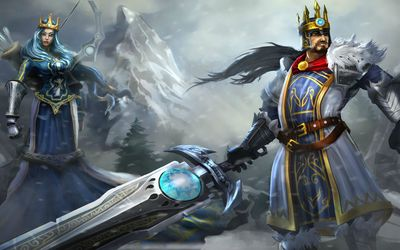 Tryndamere from League of Legends wallpaper