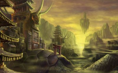 Turtle Shell - Final Fantasy wallpaper