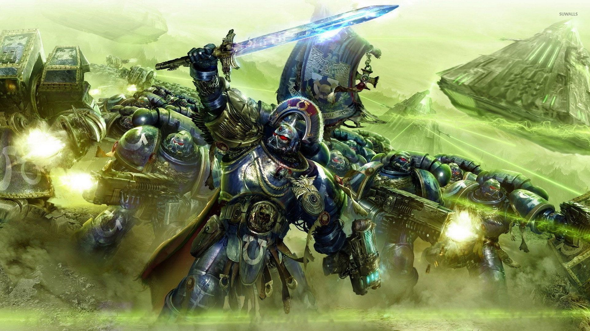 ultramarines warhammer 40 000 wallpaper game