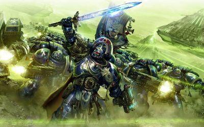 Ultramarines - Warhammer 40,000 wallpaper