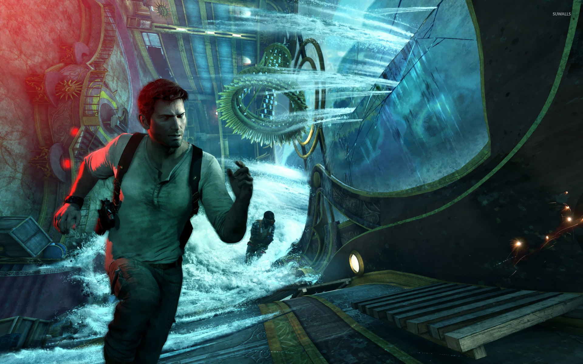 Uncharted 3 Drakes Deception 5 Wallpaper Game