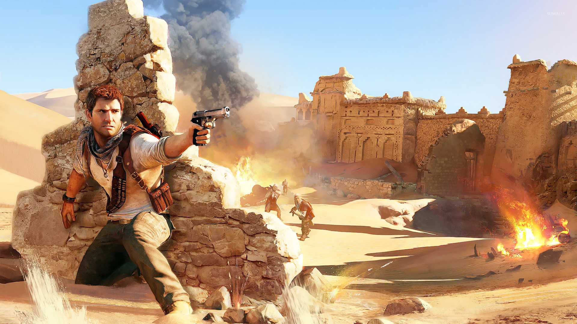 Uncharted 3 Drake S Deception 3 Wallpaper Game Wallpapers