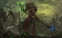 Undead warlock - World of Warcraft wallpaper 1920x1200 jpg
