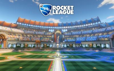 Utopia Coliseum in Rocket League wallpaper