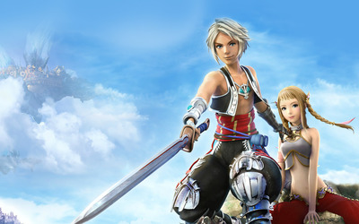 Vaan and Penelo - Final Fantasy XII wallpaper