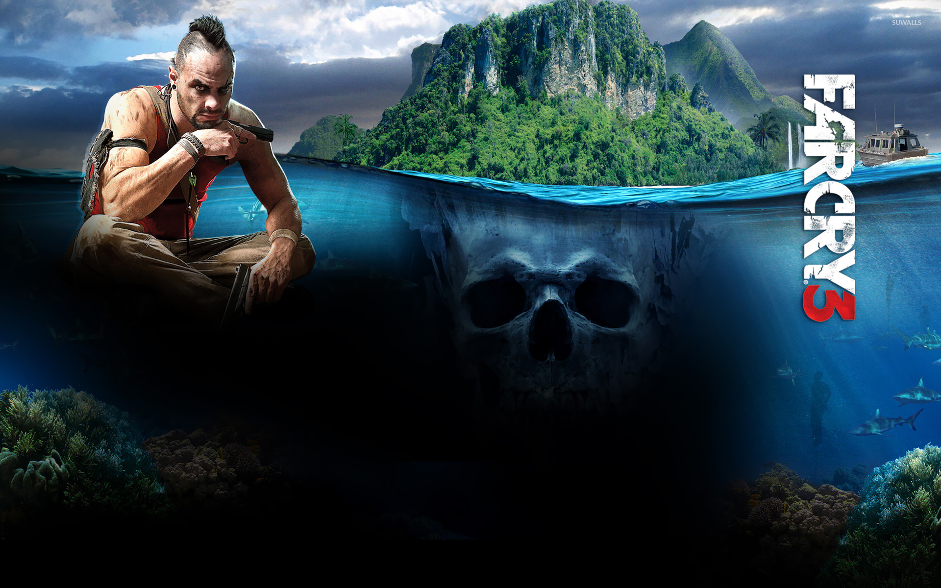 Vaas - Far Cry 3 [4] wallpaper - Game wallpapers - #17876