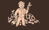 Vault Boy - Fallout [11] wallpaper 2560x1600 jpg