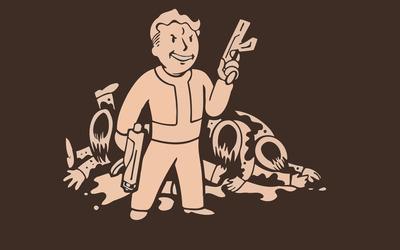 Vault Boy - Fallout [11] wallpaper