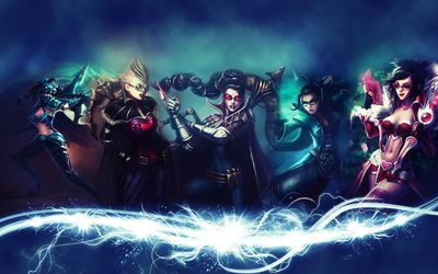 Vayne - League of Legends wallpaper