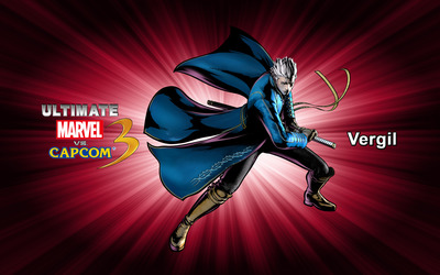 Vergil - Ultimate Marvel vs. Capcom 3 wallpaper