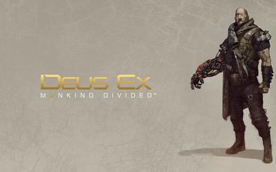 Victor Marchenko in Deus Ex: Mankind Divided wallpaper