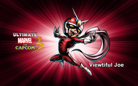 Viewtiful Joe - Ultimate Marvel vs. Capcom 3 wallpaper 2560x1600 jpg