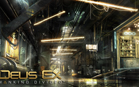 Warehouse in Deus Ex: Mankind Divided wallpaper 2560x1440 jpg