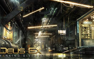 Warehouse in Deus Ex: Mankind Divided wallpaper