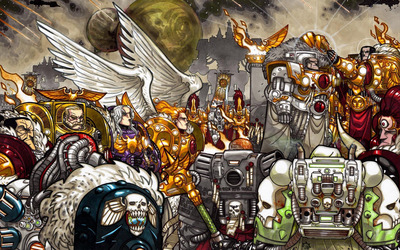 Warhammer 40,000 [16] wallpaper