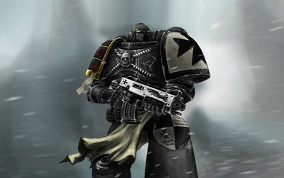 Warhammer 40,000: Black Templars wallpaper