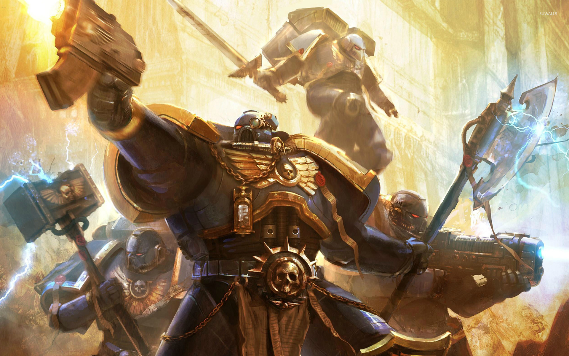 Warhammer 40000 Space Marine 4 Wallpaper Game