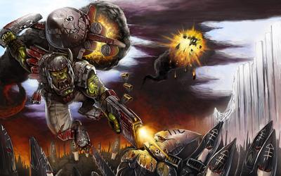 Warhammer 40,000: Space Marine [7] wallpaper