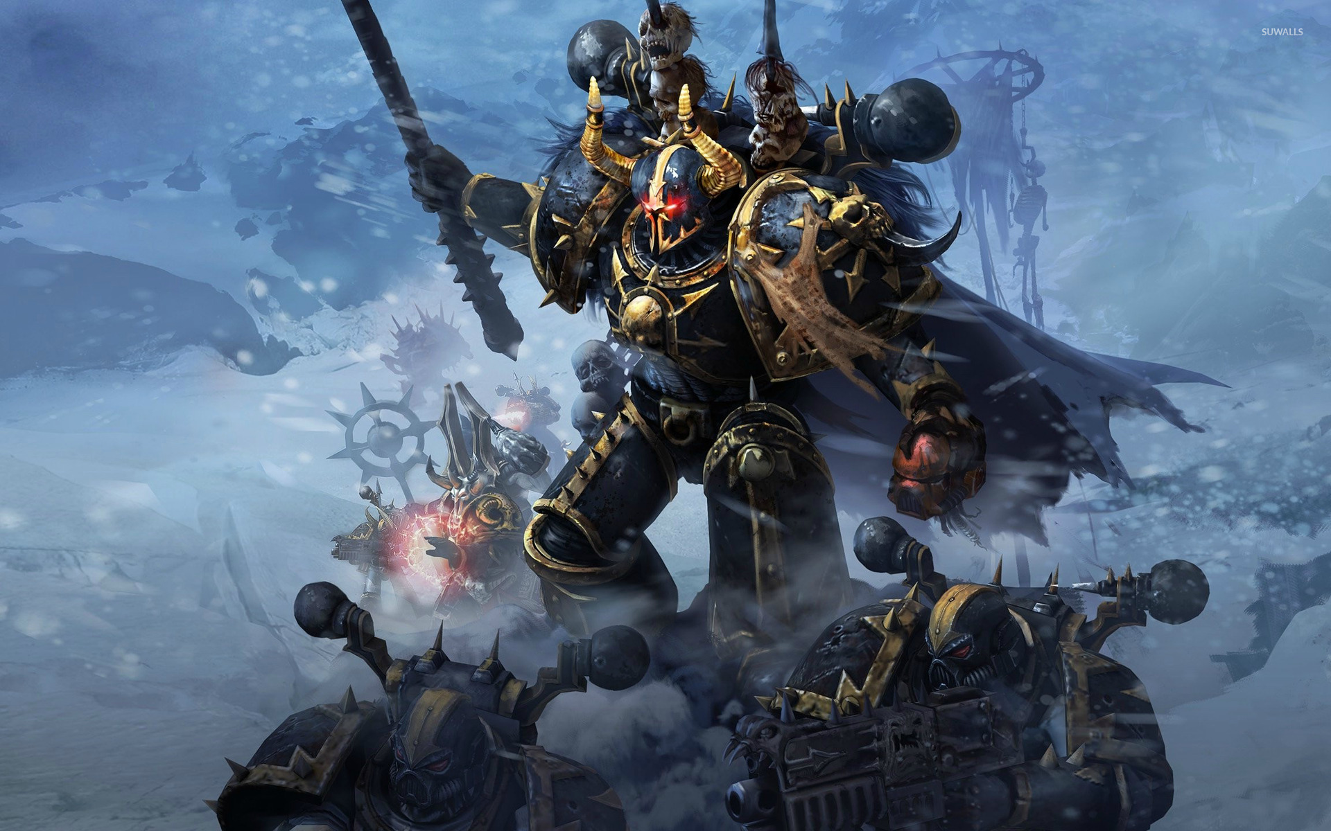 Warhammer 40 000 Space Marine Wallpaper Game Wallpapers
