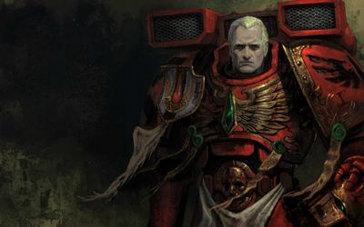 Warhammer 40,000 - Space Marine wallpaper