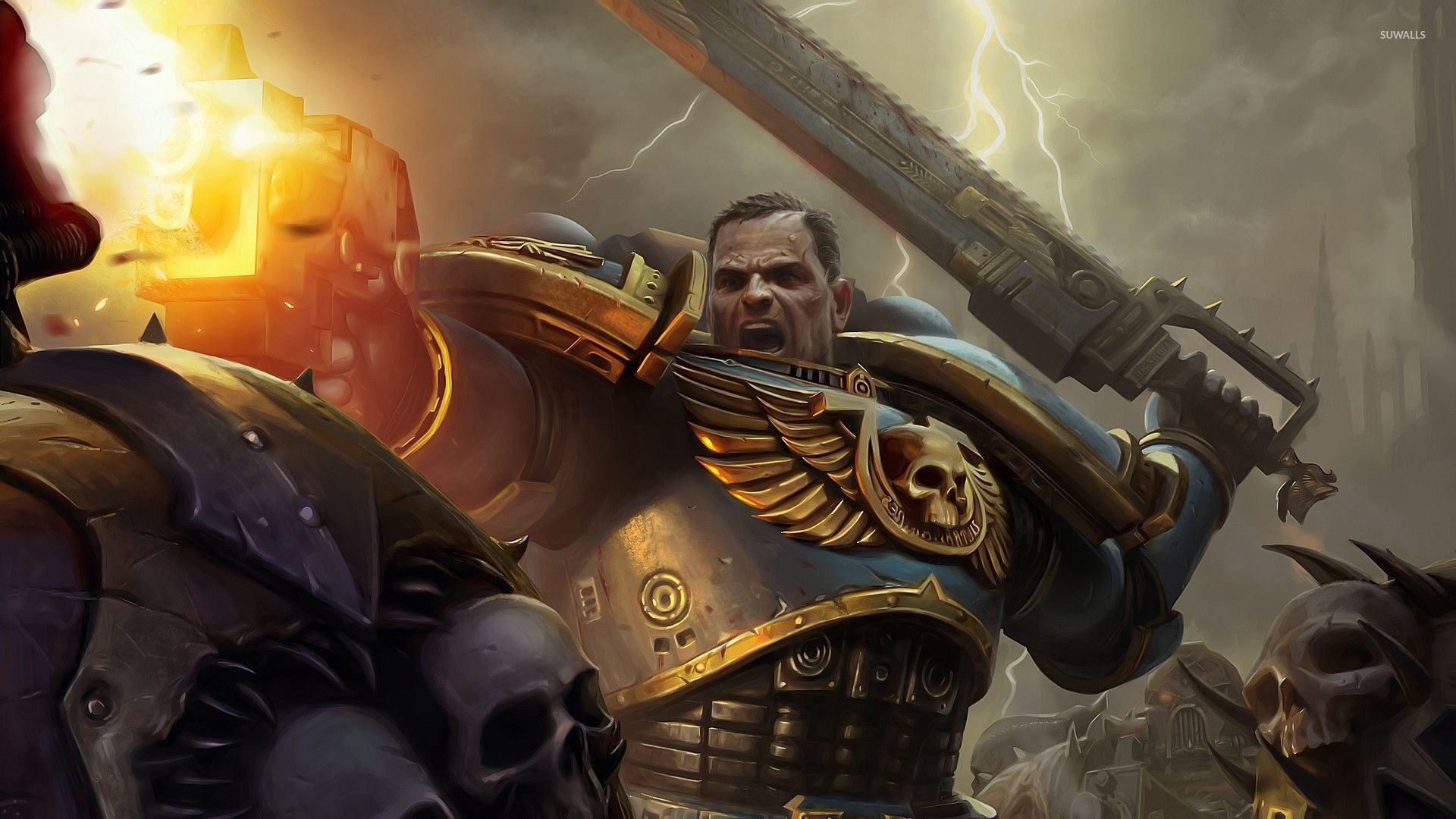 warhammer 40,000 - space marines [5] wallpaper - game wallpapers