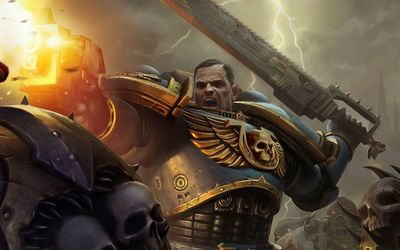 Warhammer 40,000 - Space Marines [5] wallpaper