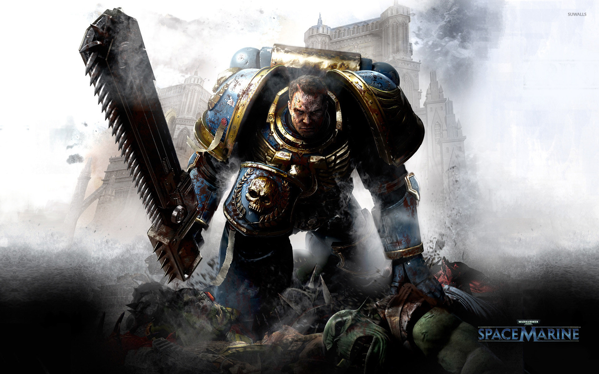 Space Marines [3] Wallpaper