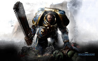 Warhammer 40,000 - Space Marines [3] wallpaper 1920x1200 jpg