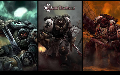 Warhammer 40,000 - Space Marines [4] wallpaper