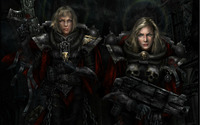 Warhammer: Sisters of Battle wallpaper 1920x1200 jpg