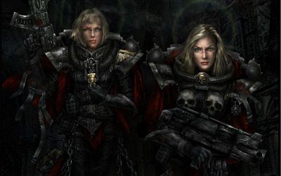 Warhammer: Sisters of Battle wallpaper