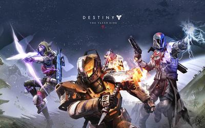 Warlock, Titan and Hunter - Destiny: The Taken King wallpaper