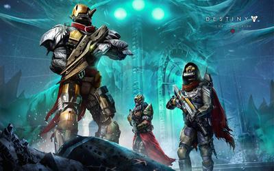 Warriors in Destiny: The Taken King wallpaper