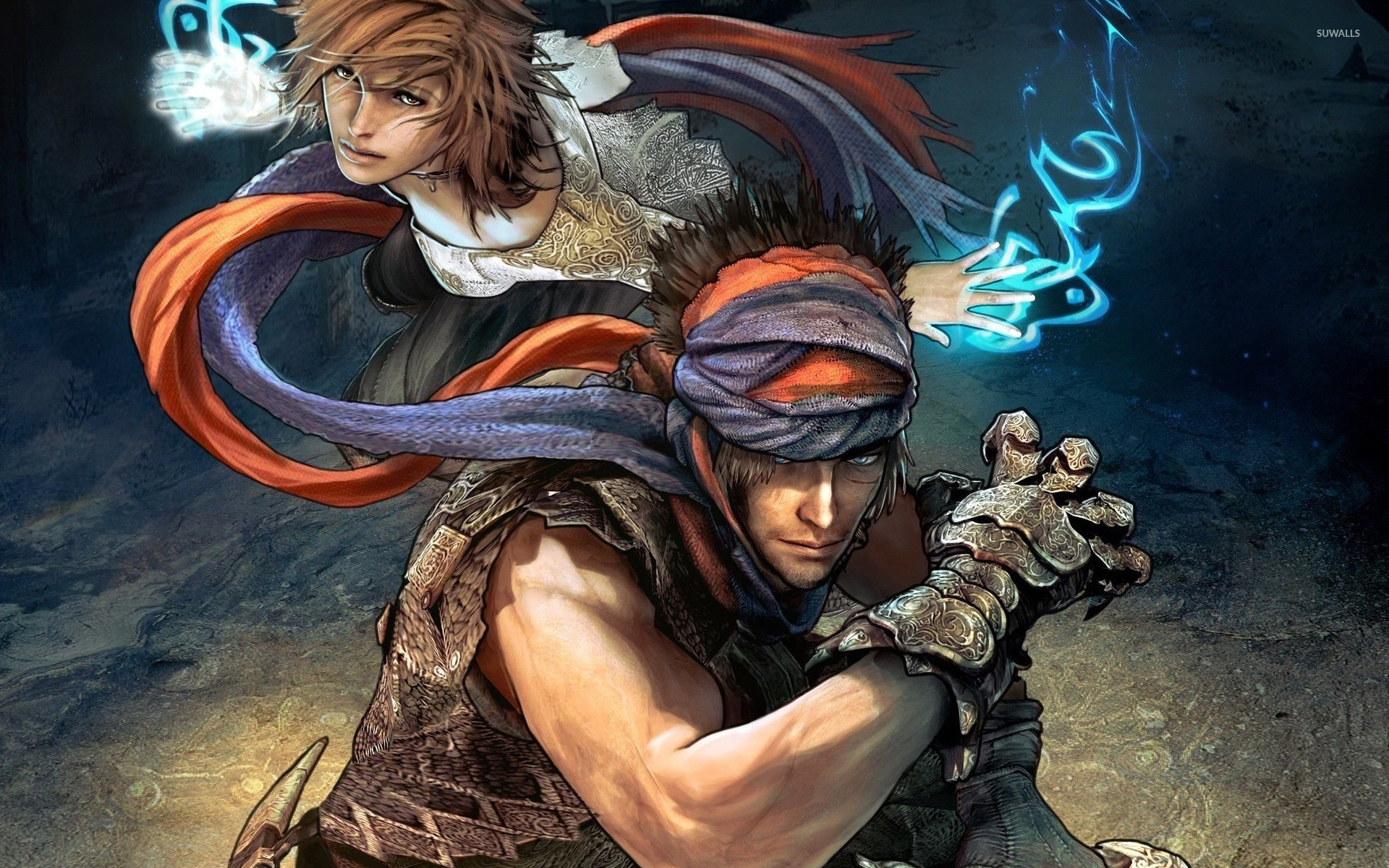 Warriors In Prince Of Persia The Forgotten Sands Wallpaper Game