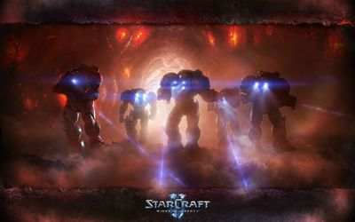 Warriors in StarCraft II: Wings of Liberty wallpaper