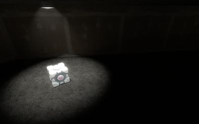 Weighted Companion Cube [3] wallpaper