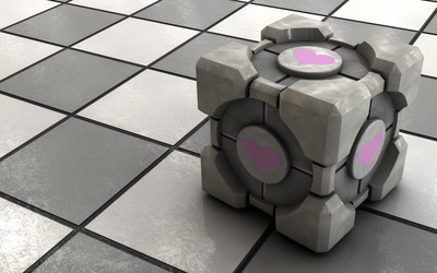 Weighted Companion Cube [2] wallpaper