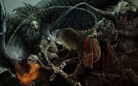 Weird creatures in Castlevania: Lords of Shadow wallpaper 1920x1080 jpg